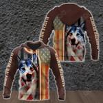 Alaskan Malamute All Over Print Shirts