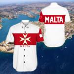 Malta Short Sleeve Linen Button Down Shirt