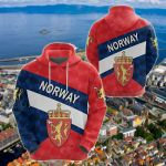 Norway Sporty Style All Over Print Shirts