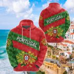 Portugal Sporty Style All Over Print Shirts