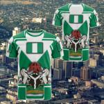 Nigeria Flag And Coat Of Arms - Boa Me Na Me Mmoa Wo All Over Print T-shirt