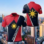 The Philippines - Filipino Pride All Over Print Polo Shirt