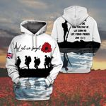 UK Soldiers Lest We Forget All Over Print Shirts