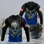 Spartan Soldier US Navy All Over Print Shirts