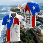 Jesus Puerto Rico Faith All Over Print Polo Shirt