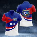 Cuba Proud Version All Over Print Polo Shirt