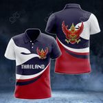 Thailand Proud Version All Over Print Polo Shirt
