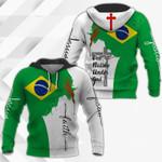 Jesus Brazil Faith All Over Print Shirts