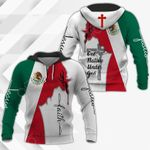Jesus Mexico Faith All Over Print Shirts