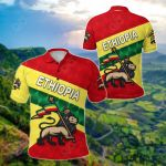 Ethiopia Vibe Version All Over Print Polo Shirt