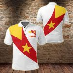 Tigray Special Flag All Over Print Polo Shirt