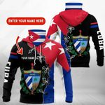 Customize Cuba Coat Of Arms All Over Print Neck Gaiter Hoodie