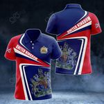 United Kingdom Proud - New Style All Over Print Polo Shirt