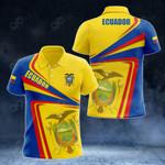 Ecuador Proud - New Style All Over Print Polo Shirt
