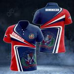 Dominican Republic Proud - New Style All Over Print Polo Shirt