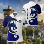 Scotland Dragon All Over Print Polo Shirt