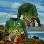 Aotearoa New Zealand Koru All Over Print Hoodies