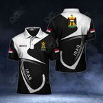 Customize Iraq Coat Of Arms All Over Print Polo Shirt