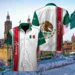 Mexico Expats Short Sleeve Linen Button Down Shirt