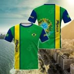Brazil Expats All Over Print T-shirt