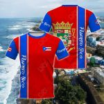 Puerto Rico Expats All Over Print T-shirt