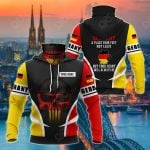 Customize Germany Skull Special All Over Print Neck Gaiter Hoodie