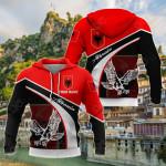 Customize Albania Eagle All Over Print Shirts