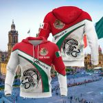 Customize Mexico Eagle All Over Print Shirts