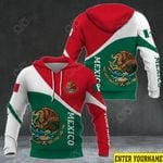 Customize Mexico Coat Of Arms Version All Over Print Hoodies