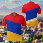 Armenia All Over Print Polo Shirt