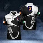 Customize Ireland Coat Of Arms & Flag All Over Print Polo Shirt