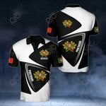 Customize Portugal Coat Of Arms & Flag V2 All Over Print Polo Shirt