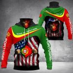 Sons Of Portugal - American Chapter All Over Print Neck Gaiter Hoodie