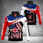 Sons Of UK - American Chapter All Over Print Neck Gaiter Hoodie