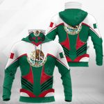 Mexico Special All Over Print Neck Gaiter Hoodie