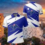 Australia Flag Kangaroo All Over Print Polo Shirt