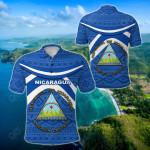 Nicaragua Vibes Version All Over Print Polo Shirt