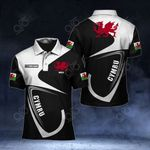 Customize Cymru - Welsh Dragon All Over Print Polo Shirt