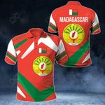Madagascar New Design All Over Print Polo Shirt