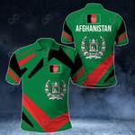 Afghanistan New Design All Over Print Polo Shirt
