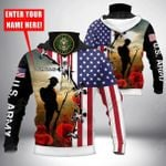 Customize U.S.Army All Over Print Neck Gaiter Hoodie