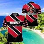 Trinidad and Tobago Pro Energy All Over Print Polo Shirt