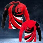 Trinidad and Tobago Coat Of Arms - Whirlpool Style HD All Over Print Hoodies