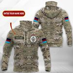 Customize British Armed Forces All Over Print Neck Gaiter Hoodie