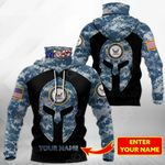 Customize US Navy Special All Over Print Neck Gaiter Hoodie