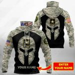 Customize US Army Special All Over Print Neck Gaiter Hoodie