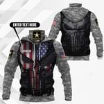 Customize U.S.Army - Armor All Over Print Neck Gaiter Hoodie