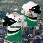 Nigeria Pround Version All Over Print Polo Shirt