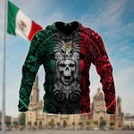 Mexican Aztec Warrior All Over Print Shirts
