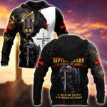 September Guy A Child Of God A Man Of Faith A Warrior Of Christ All Over Print Shirts